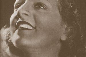 Tango-Sängerin Ada Falcón